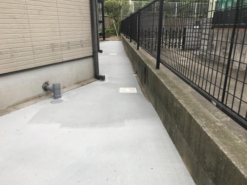 コンクリート敷き(平方メートル)