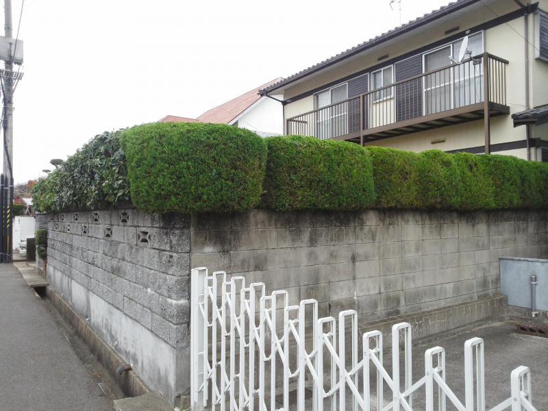 生垣(高さ1〜2m 14m)