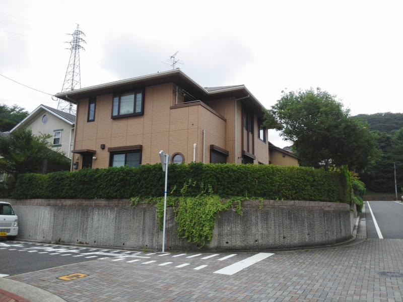 生垣(高さ1〜2m、19m) カシ・シマトネリコ剪定(5m)