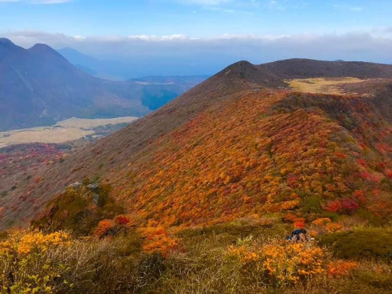 九州で一番早い紅葉